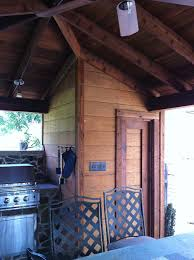 Backyard Patio Covers Backyard Patio Cover Outdoor Kitchen And Bathroom In Frisco Texas