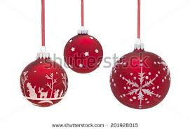 baubles white background stock photo 201928015