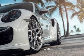porsche white 2017 white porsche 991 turbo s adv10 0 m v2 cs forged concave wheels
