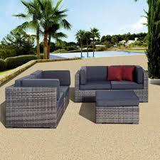 Gray Patio Furniture Sets Atlantic Contemporary Lifestyle Patio Conversation Sets