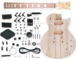 guitar kits direct lp 900st diy guitar kit carved mahogany with