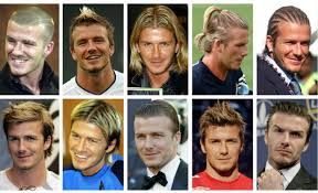 hairstyles through the years 25 marvellous david beckham hairstyles through the years wodip com