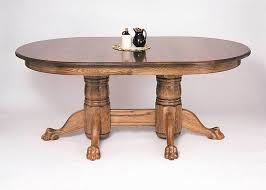 Dining Tables Oval 72 Oval Pedestal Dining Table From Dutchcrafters Amish