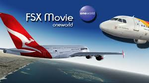 Oneworld Route Map by Fsx Movie Oneworld Youtube