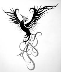 tattoo sketch for a phoenix rising rise phoenix by rad82