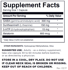 5 Htp Before Bed Dr Dave U0027s Best Sleep Wizard Sleep Aid With Melatonin Gaba And 5