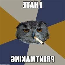 Art Student Owl Meme - fuck yeah art student owl sketchbook of the starving artist