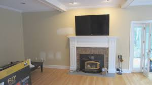 fireplace top tv above gas fireplace decor color ideas fresh on
