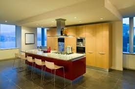 kitchen island wall one wall kitchen with rectangular kitchen island smith design