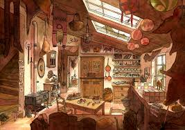 illustration cuisine la cuisine du voyageur by marfigram on deviantart
