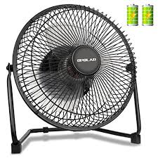 battery operated desk fan opolar biggest battery operated and usb powered fan with two