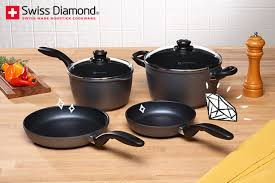 et cuisine casseroles le set de 6 pièces compatibles tous feux par swiss