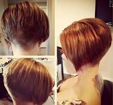 layered buzzed bob hair 299 best bob with nape images on pinterest shorter hair kiss