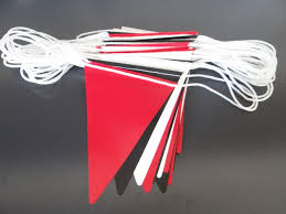 Safety Pennant Flags Safety Bunting Flags On About Bunting