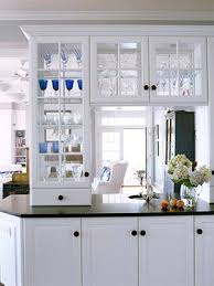 Glass In Kitchen Cabinets Glass Kitchen Cabinets See Through Here S Another View Of The