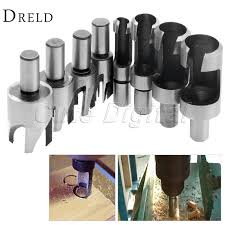 Woodworking Tools For Sale Australia by Aliexpress Com Buy 8pcs Set Carbon Steel Carpentry Wood Plug