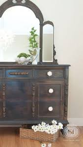 Painted Bedroom Furniture Before And After by How To Paint A Vintage Buffet Vintage Buffet Buffet And Vintage
