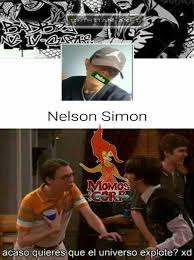 Simon Meme - dopl3r com memes nelson simon acaso quieres que el universo