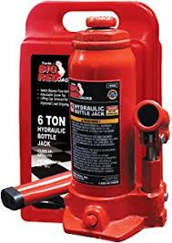 amazon com torin big red air hydraulic bottle jack 12 ton