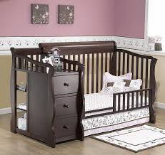 Blue Changing Table Baby Cribs Magnificent Crib Dresser Changing Table Set Crib