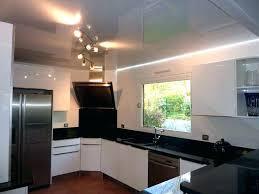 eclairage spot cuisine lumiere led plafond beau eclairage cuisine spot encastrable lumiere