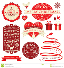christmas labels u0026 ornament royalty free stock photos image