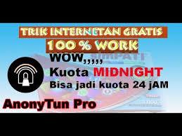setting anonytun midnight setingan terbaru mengubah kuota midnight menjadi kuota flash biasa
