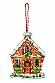 amazon com dimensions counted cross stitch ornament gingerbread