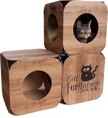 wood effect cube