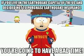 San Francisco Meme - in response to the earthquake in san francisco meme guy