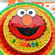 elmo gelatin sesame street gelatina jello mate u0027s cakes and more