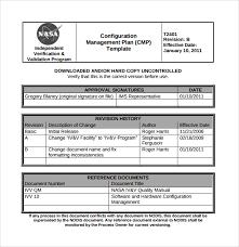 sample configuration management plan template 9 free documents