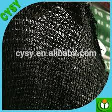 Shade Cloth Protecting Your Plants by High Shade Factor Black Color Plastic Sun Protection Net Ginseng