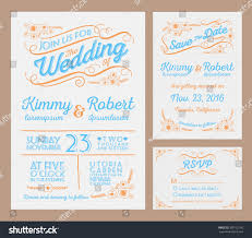 letterpress wedding invitation collection package include stock