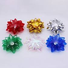 gift wrap bows pack of 6 light up gift wrap bows batteries included