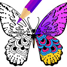 paint the stress away with color therapy coloring for adults