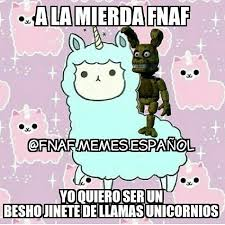 Memes Espaã Ol - fnaf memes español fnaf memes espanol instagram photos and videos