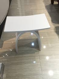Bathroom Chair Stool Aliexpress Com Buy New Matte Modern Curved Bathroom Seat Stool