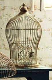 Shabby Chic Bird Cages by Vintage Ornate Huge Brass U0026 Copper Estate Bird Cage For Parrot