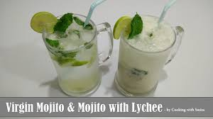 mojito recipe virgin mojito mocktail u0026 mojito with lychee recipe in hindi by