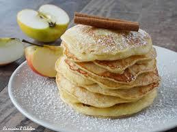 recette de cuisine simple et rapide pancakes aux pommes facile et rapide la cuisine d adeline
