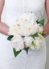 silk wedding flowers silk wedding flowers fbq004 wh pk silk peony wedding