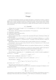 dispense algebra lineare gruppi dispense algebra docsity