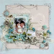 Wedding Scrapbook Page Several Gorgeous Layouts By Maiko Kosugi Using Prima In This Post