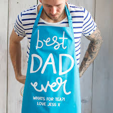 Best Gifts For Cooks by Personalised Dad Cooking Apron Gifts For Him Fathers Day