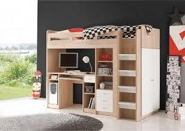 lit enfant mezzanine bureau ensemble lit mezzanine avec bureau penderie étagère mezzanine