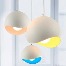 Decorative Pendant Light Fixtures New Modern Colored Pendant Lights Kitchen Restaurant