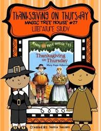 the magic tree house 27 thanksgiving on thursday lit study by