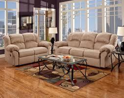 Reclining Sofa And Loveseat Set Roundhill Furniture