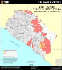 Zip Code Map Colorado by Cal Fire Orange County Fhsz Map
